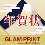 年賀状 GLAM PRINT