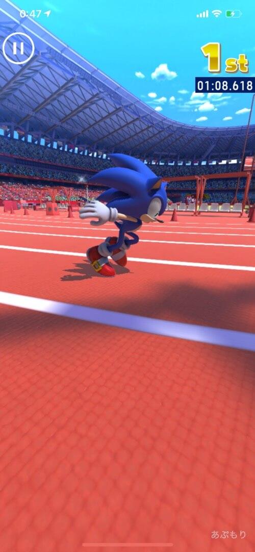 ソニック2020 100m走