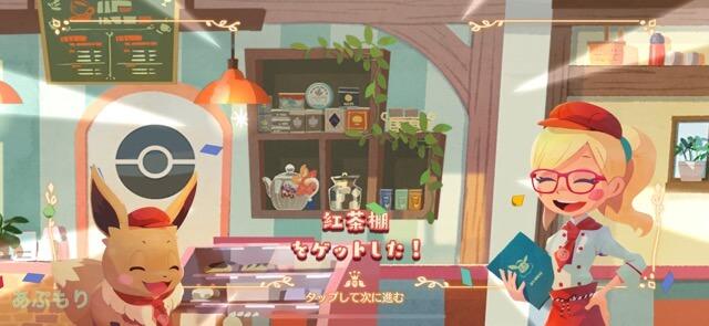 ポケモンカフェミックス 紅茶棚を購入